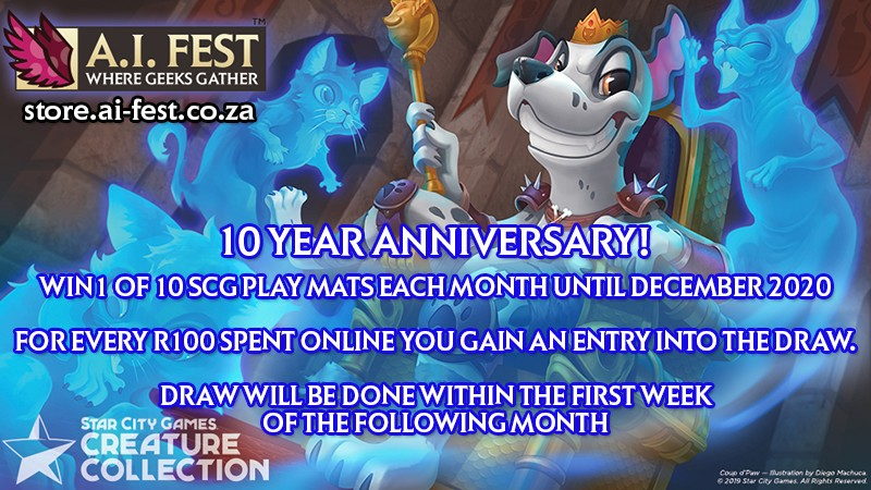 10 Year Anniversary Giveaway