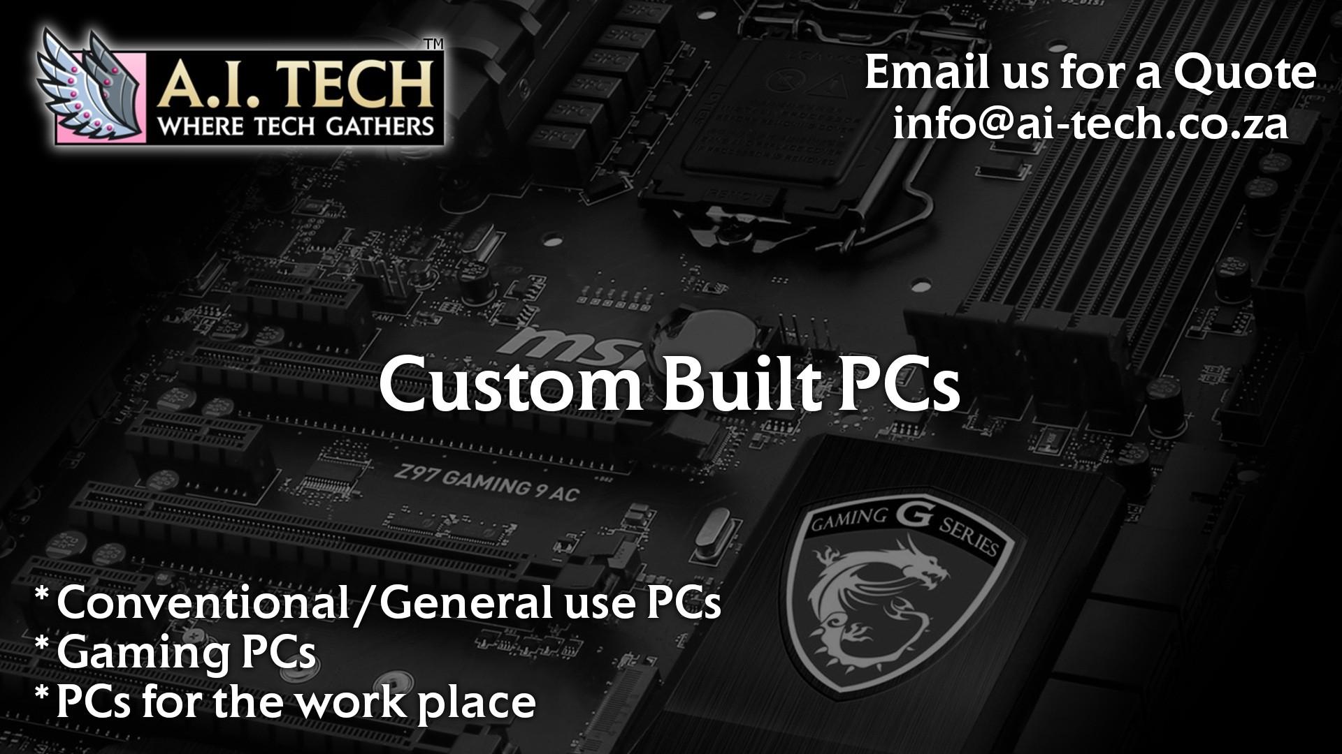 Custom Built PCs